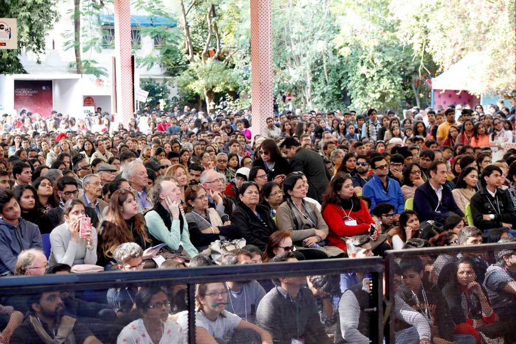 In The Crowd: Jaipur Literature Festival