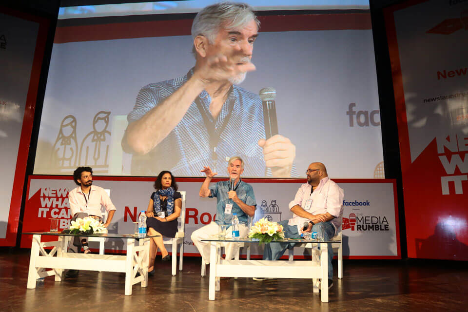 Abhinandan Sekhri in conversation with Amit Doshi, Christopher Lydon and Geeta Pandey about the perfect recipe for the revival of digital radio.