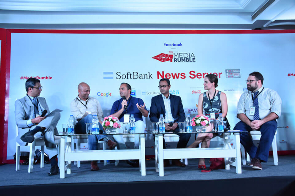 Zakka Jacob in conversation with Aaron Sharockman, Anim van Wyk, Govindraj Ethiraj, Ishteyaque Amjad and Trushar Barot about the battle between spreading and curbing fake news.